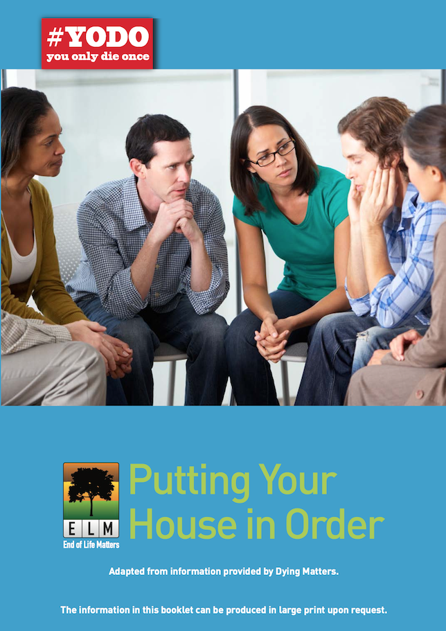 putting you house in order